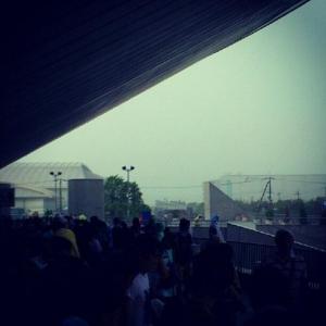 Perfumeライブ中断! 豪雨で大阪サマソニに避難指示