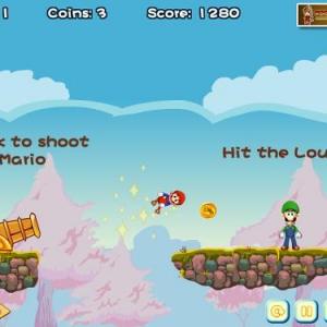 マリオを大砲で吹っ飛ばす『Angry Birds』のようなゲーム 最後のボスは……