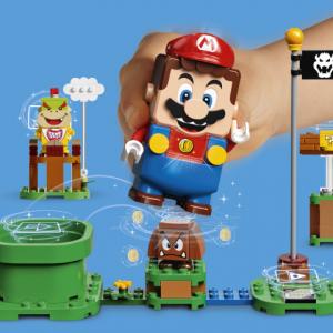 マリオがレゴになったよ 「レゴ スーパーマリオ」は2020年後半に発売