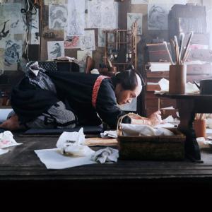 まさに画狂! 柳楽優弥&田中泯が葛飾北斎に! 映画『HOKUSAI』新場面写真解禁