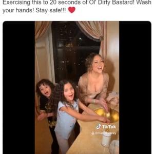 新型コロナウイルスの予防も楽しむアメリカ人 歌いながらノリノリで手洗いする「#IWillSurviveChallenge」