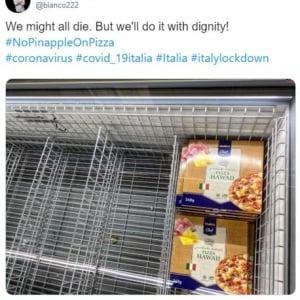 イタリア人にとってはパイナップルがトッピングされたピザは死ぬほどショックらしい ではタピオカがトッピングされたピザなら即死?