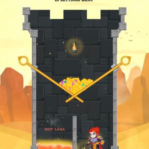 広告の中にだけ存在した「ピンを抜くパズルゲーム」が本当に遊べるように! 『Hero Rescue』リリース