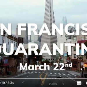 ゴーストタウンと化したサンフランシスコ 『アイ・アム・レジェンド』の1シーンみたい