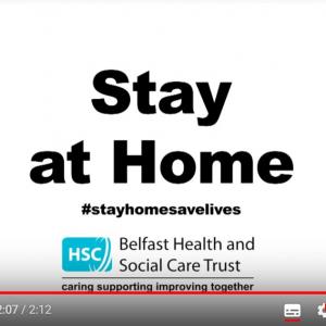「家にいてください」 アイルランドの医療関係者たちからの強力なメッセージ