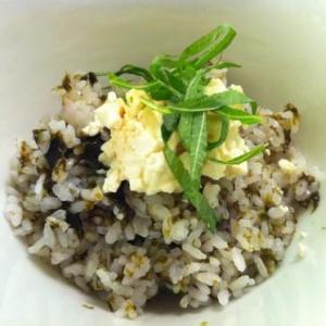 【炊き込みごはん レシピ】海苔の炊き込み&とうふ丼