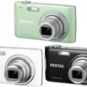 薄すぎる! 最薄部16.5mmのデジタルカメラ『PENTAX Optio P80』発売へ