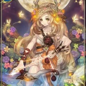 美麗カードが自慢のスマートフォンゲーム『天空のクリスタリア』が10万人突破
