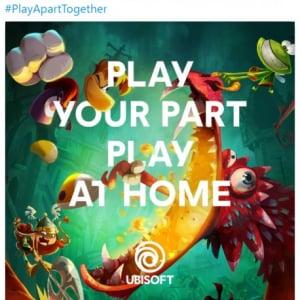 「Stay At Home」ではなく「Play At Home」 自宅での隔離生活用にユービーアイソフトがPCゲーム無料提供などのキャンペーン開始