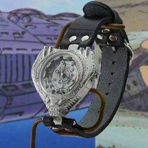 アニメ『未来少年コナン』の空中要塞「ギガント」で時を刻む!重厚感のある本格クラフト腕時計に