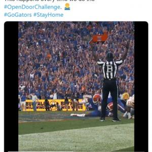 """ドアを開けたらいきなりスポーツの劇的な瞬間に立ち会える「#OpenDoorChallenge」 """"当たり前""""だった大歓声が恋しい"""
