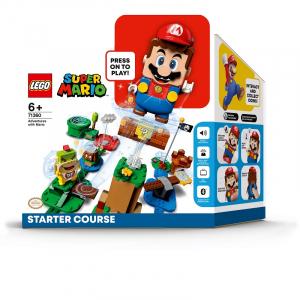 アクションブロックと連動してインタラクティブに遊べる「レゴ スーパーマリオ」スターターセットが8月1日発売へ 本日から予約受付を開始