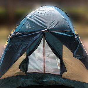 「楽しそうで良い」「子どもたちのテンションも上がる」 休校中の子ども対策にテントを張るアイディアが話題