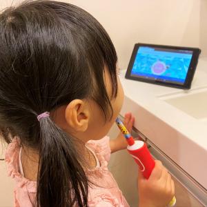 ポケモン歯ブラシ&専用ウェブコンテンツで身に着ける歯磨き習慣! 3歳児の電動歯ブラシデビュー