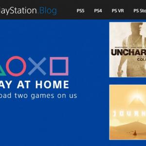 「Play At Home(家で遊ぼう)」 『アンチャーテッド コレクション』と『風ノ旅ビト』の無料化をソニー・インタラクティブエンタテインメントが発表