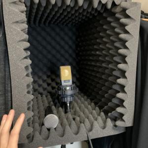スタジオもカラオケも使えないご時世…… 鬼龍院翔さんが自宅に作った簡易防音室が話題に