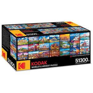 コダックが5万1300ピースのジグソーパズル「World's Largest Puzzle」を発売 すぐに売り切れ