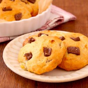 混ぜて焼くだけでおやつに最高「チョコバナナクッキー」レシピが話題に「バターなし、ホットケーキMIXで超簡単」