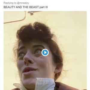一人全役の『美女と野獣』「10点満点のパフォーマンス」「みんなが笑顔になれる動画だね」