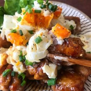 絶品レシピ「新玉タルタル甘酢チキン」がネットで反響「どこにでもある材料で簡単にできる」「簡単でうまうまだった!!」