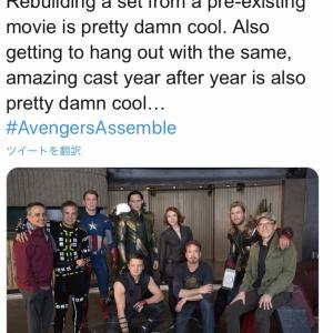 感動再び!『アベンジャーズ/エンドゲーム』同時上映会で、監督直々に秘蔵映像や裏話を大量ツイート