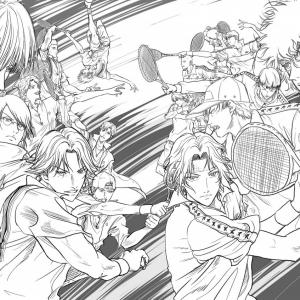 跡部vs幸村 夢の対決が許斐剛監修オリジナルストーリーでアニメ化!『新テニスの王子様 氷帝 vs 立海 Game of Future』製作決定