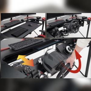 デバイスを常時設置しておける夢のゲーミングデスク「ARCdesk mini」発表!