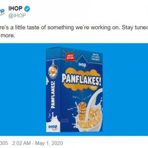 パンケーキのシリアルが登場!? 手作りした動画がTikTokで流行中