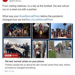 「#LastNormalPhoto」 あなたの携帯電話に保存されているビフォーコロナの写真を見せて
