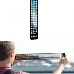 『iPhone5』が超縦長になって更に便利に!? そんな妄想動画が面白い