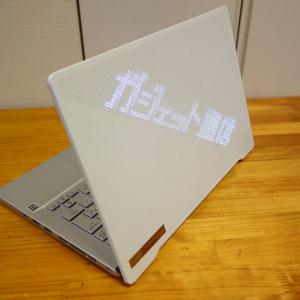 ASUS「ROG Zephyrus G14」レビュー 天板のLEDピクセルアートがクリエイティブに存在感を放つ14インチゲーミングノートPC