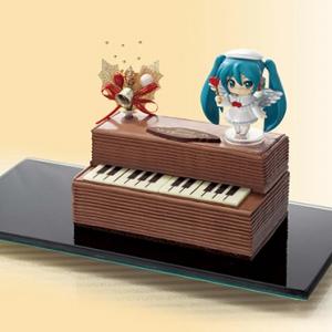 【ネギマガ】初音ミク『ねんどろいどぷち』付きのクリスマスケーキがファミリーマートで予約開始! 10月2日から