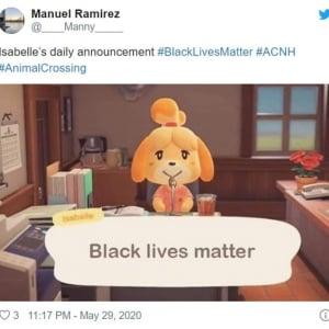 『あつまれ どうぶつの森』でも広がる「Black Lives Matter(ブラック・ライヴズ・マター)」