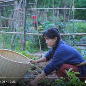 なぜか懐かしくもあり癒されてしまう中国人女性YouTuberの動画