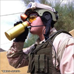 """""""攻撃的""""な水分補給 ワンタッチで開閉できる弾丸型のマグボトル『AmmOMug』"""