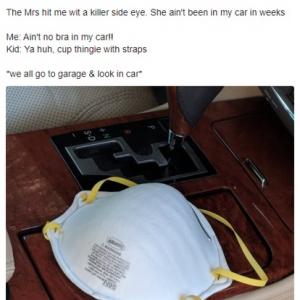 「ママ、パパの車の中になんでブラジャーがあるの?」 4才の娘の何気ない一言で心臓が止まりかけたお父さん
