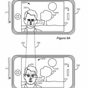 アップルのiPhoneの新カメラ特許が地獄のミサワ過ぎる! 撮影後にタッチでセンター寄せ