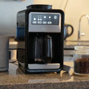 スマートスピーカーなどスマート家電と連携可能 +Styleが「スマート全自動コーヒーメーカー」を6月25日発売へ