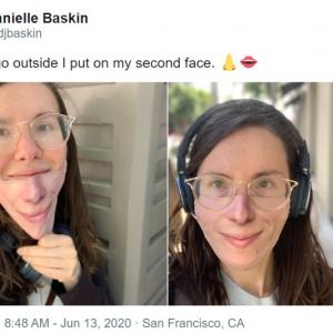 このマスク着けたいですか? マスクを着けていても外しても同じ顔になる「Maskalike」