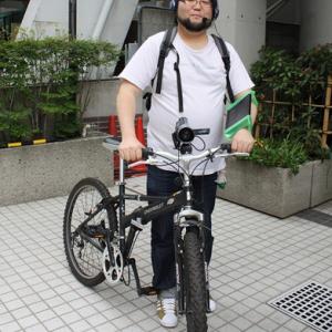 """自転車に乗って""""生放送""""するための実験をしてみた"""