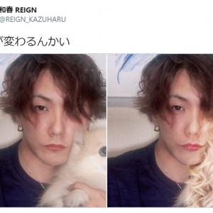 「お前が変わるんかい」 愛犬との自撮り写真にFaceAppでフィルターをかけたらこうなった