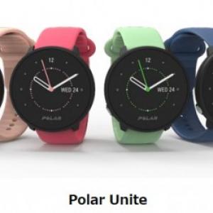 Polar、健康管理機能が充実したフィットネスバンド「Polar Unite」を発表