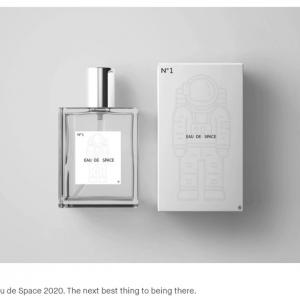 宇宙空間の匂いがする香水「Eau de Space」がKickstarterで資金調達中