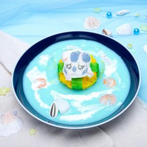 「タネを落としたですぅ~ こうしくん海カレー」が切なくてかわいい『ハム太郎カフェ2020』はグッズ通販も