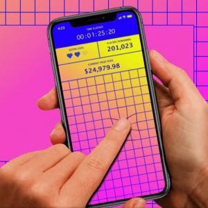 スマホの画面を長く触り続けた人に最大2万5000ドルの賞金 「Finger On The App」というアプリを使ったコンテスト