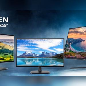 Acerのもうひとつのブランド「AOPEN」からコスパに優れたモニター3製品が登場