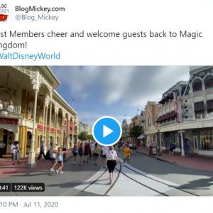 フロリダ州オーランドのウォルト・ディズニー・ワールド・リゾートが営業再開 新型コロナウイルス感染者数が急増する中で