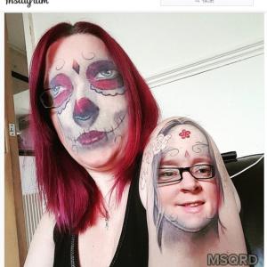 コメディかホラーか アプリで自分の顔とタトゥーの顔を入れ替えたらスゴイことになっちゃった人5選