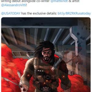 キアヌ・リーヴスのコミック作家デビュー作となる「BRZRKR」が発表 「Netflixがドラマ化するんじゃない」