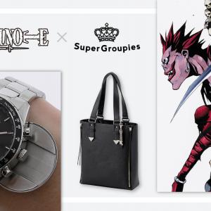 ノートの切れ端を入れていたギミックも再現!『DEATH NOTE』コラボ腕時計・バッグ・財布で夜神月になれる